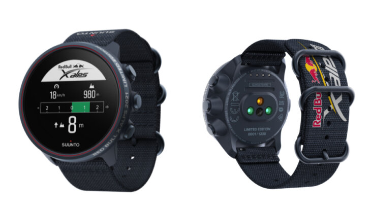 世界限定1,238本!SUUNTO 9 BARO TITANIUM Red Bull X-Alps 2021 Limited Edition